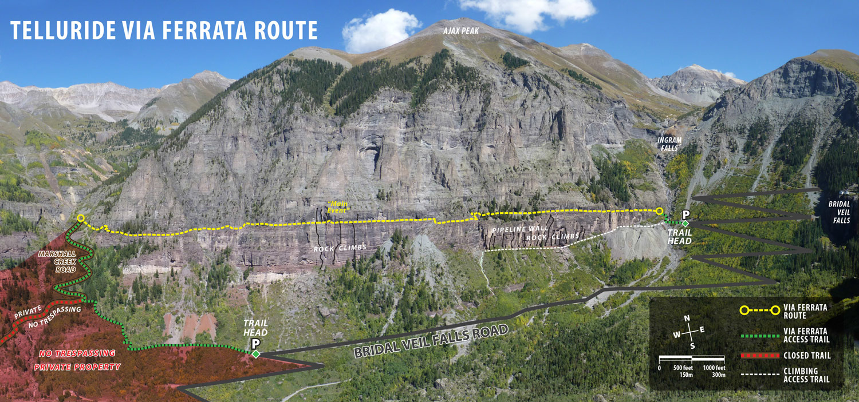 Black Bear Pass Colorado >> Via Ferrata - Telluride Mountain Club