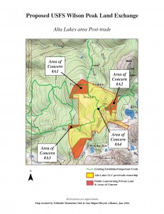 Alta post map