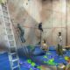 New Routes with New Holds at Indoor Climbing Wall!