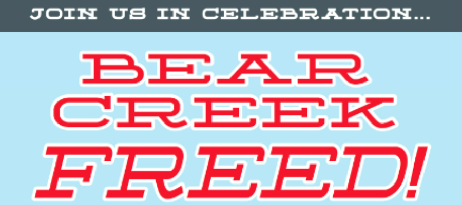 Bear Creek Freed Poster Small