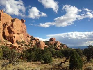 Climbing in Paradox, Colorado