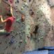 Indoor Climbing Gym Bouldering Competition