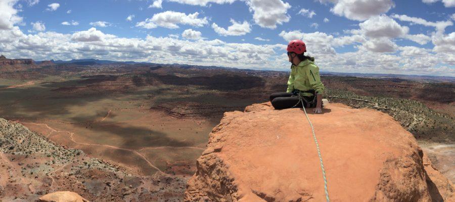 Climbing South Six-Shooter