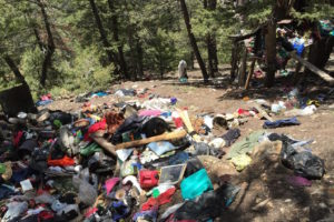 Jud Wiebe Trash Camp Clean-up Scheduled