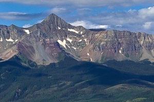 Hiking Wilson Peak
